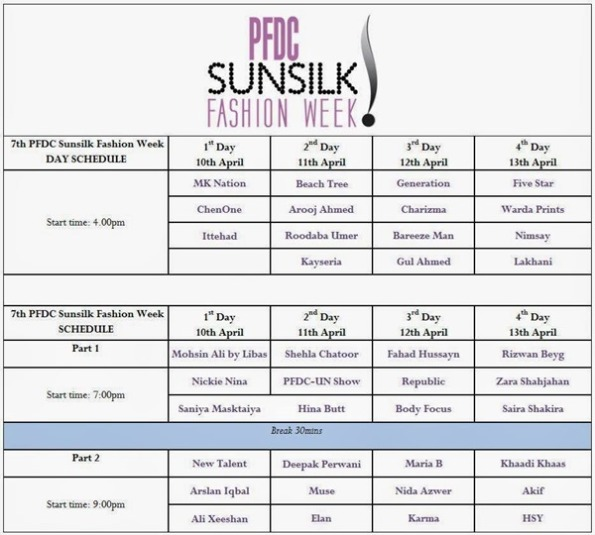PFDC sunsilk fashion week 2014