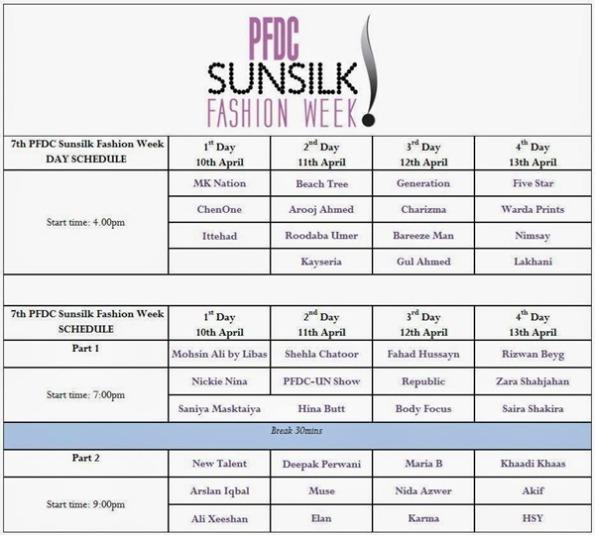 PFDC sunsilk fashion week 2014