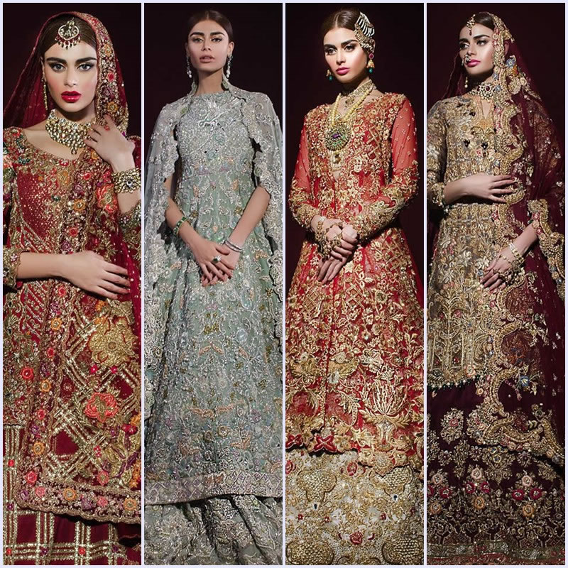 8652292d73 ... fashion designer Tena Durrani has created the perfect blend of elegant  opulence and tradition, modeled on the still stunning supermodel Sadaf  Kanwal.